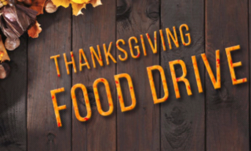 Thanksgiving Day Mass & Food Drive